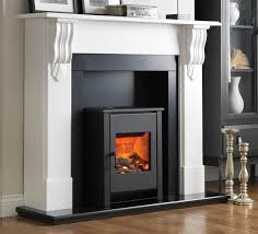 flamerite corbel electric stove fireplace suite thumbnail