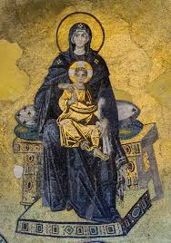 Hagia Sophia has been converted back into a mosque, but the veiling of its  figural icons is not a Muslim tradition