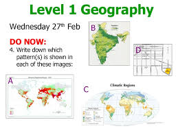Geographic Patterns Cool Lesson 48 Describing Patterns