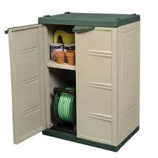 mini compact plastic garden shed storage cabinet