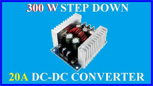 <b>300W</b> Step Down - <b>20A DC</b>-<b>DC Converter</b> - YouTube