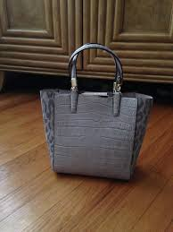 Coach Madison Mini North South Bonded In Python Embossed Leather Tote -  Tradesy