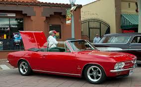 1967 Chevrolet Corvair Monza Convertible - Bolero Red - fvr ...