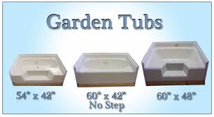 mobile home garden tubs