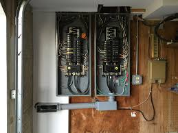 adding 36kw generator to one of two 200a panels the transfer switch is an asco 185 200a service entrance rated it is all wired up except for the generator