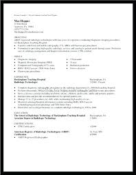 Radiography Cover Letter Technologist Cover Letter Prepossessing ...