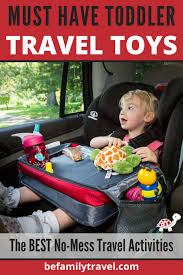 essential travel toys for toddlers