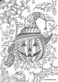 free coloring pages adults. Modren Pages Crazy Pumpkin  FREE Original Coloring Page From Horror Scenes Coloring  Book On Free Pages Adults