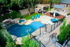 A Backyard Pool Oasis traditional-pool