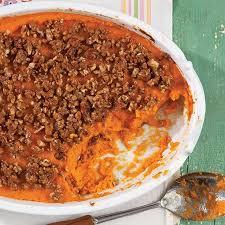sweet potato casserole with marshmallows paula deen. Perfect Deen Sweet Potato Casserole Recipe  Cooking With Paula Deen Intended With Marshmallows L