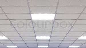 office ceiling with led fixtures stock photo ceiling office