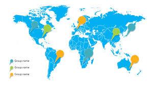 World Map Template Slidesbase