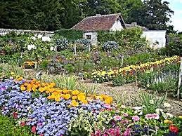 Трябва добре да обмислят мястото на цветна градина. Cvetna Gradina I Sezoni Cvetya Koito Cftyat Prez Cyalata Godina Dengarden Dom I Gradina Gradinarstvo