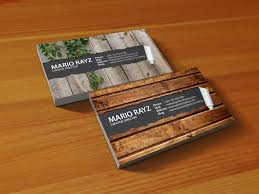 wooden business cards 24 beautiful wooden business card designs designcanyon