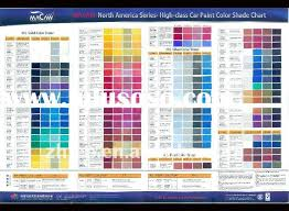 Car Colour Codes Chart Auto Paint Codes Paint Color Chart Car Paint Colors