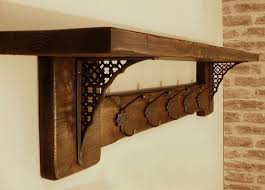 Wrought Iron Coat Rack Wall Mounted