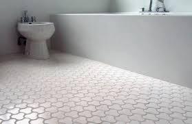 bathroom floor tile hexagon. Bathroom White Tile Floor 49 Hexagon