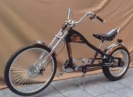 rosetta sport la bicycle lowrider navy blue chopper bike harley