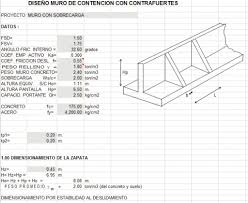 Small Picture Retaining Wall Design Spreadsheet Concrete Retaining Walls Design
