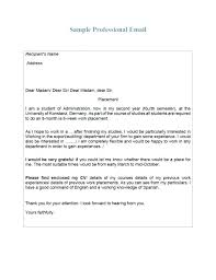 Awesome Collection Professional Email Writing Samples Format How ...