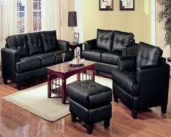 Black Living Room Furniture Set Creditrestore Us