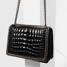 59 best Bags crush images on Pinterest   Leather bum bags, Leather ... & Zara chain city bag. Looking to purchase this bag. Zara Bags Adamdwight.com