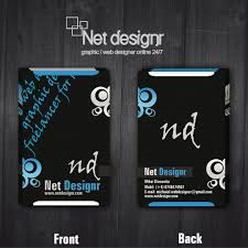 Stylish And Cool Vertical Free Business Card Design Available For