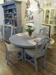 dining room grey washed round table on intended regarding gray kitchen ideas wash wood wooden tab