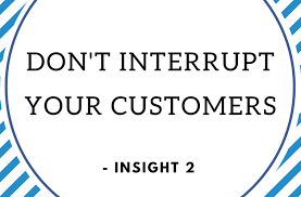 At T Customer Service The Customer Service Series Dont Interrupt Your Customers