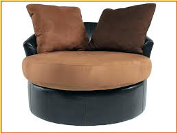 large round swivel chair turner leather