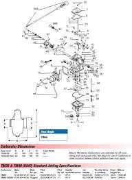Mikuni Emulsion Tube Chart Mikuni Tm36 Tm40 Hs40 Pumper Carb Exploded View