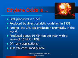 Ethylene Oxide Scrubber Design Safety In Ethylene Oxide Plant Ppt Download