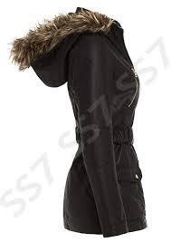 trendy black ss7 new women s faux leather biker jacket black sizes 8 to 16