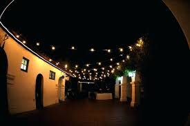 outdoor decorative string lights envision patio