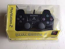 sony playstation 2 box. sony playstation 2 dualshock wired controller ps2 brand new in box black box t