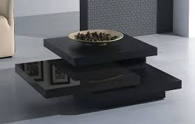 modern black coffee table build your own for a fun project wood contemporary designer rectangle white