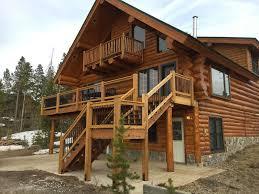 fabulous log home 2 master bedrooms