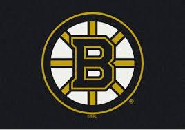 boston bruins sports team rug