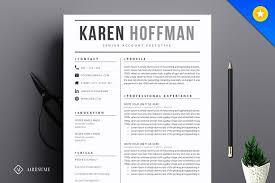 Modern Resume Format Beauteous Modern Resume Template Resume Templates Creative Market Resume