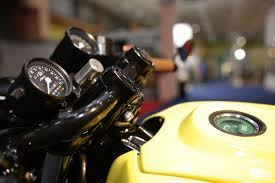 honda goldwing gl1000 k1 1976 power cafe racer the yellow bullet