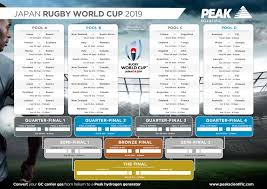 Rugby World Cup 2019 Planner