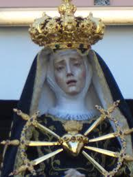 Risultati immagini per Madonna Addolorata