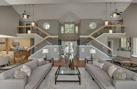 Design stunning living room Style Princegeorgesorg Huge Grey Sofa In Stunning Living Room Design