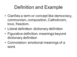 modes of development ways to develop paragraphs and essays ppt definition and example clarifies a term or concept like democracy communism composition catholicism
