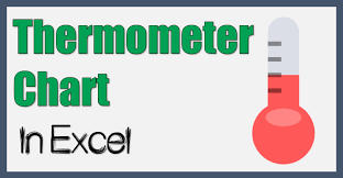 How To Make A Thermometer Goal Chart How To Create A Thermometer Chart In Excel Static