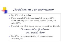 How To List Your Gpa On A Resume Example Resumes O Engineering