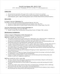 Nursing Resumes Templates Gorgeous Pediatric Nurse Resume Sample 48 Nursing Resume Template When