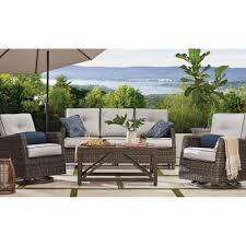 Outdoor sofa furniture Sectional Rejuvenation Patio Furniture Near Me Sams Club
