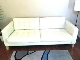 leather sofa furniture brown reviews ikea landskrona black