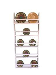 wall hanging plate rack farmhouse plate